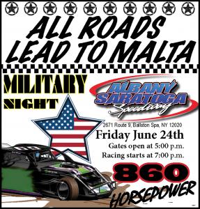 Veterans and Military Appreciation Night Flyer
